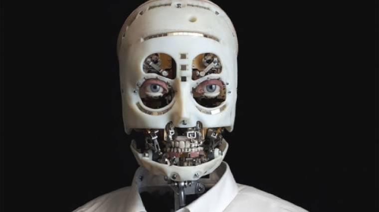 Rémisztő a Disney emberi tekintettel bámuló robotja kép