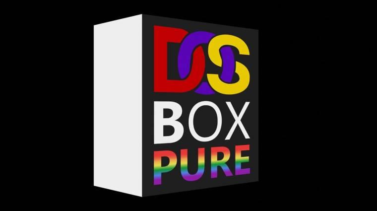 Egyszerű, de nagyszerű verziót kap a DOSBox bevezetőkép