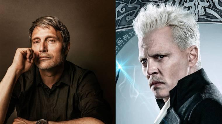 Mads Mikkelsen szerint hülyeség lenne Johnny Deppet utánoznia az új Legendás állatok filmben bevezetőkép