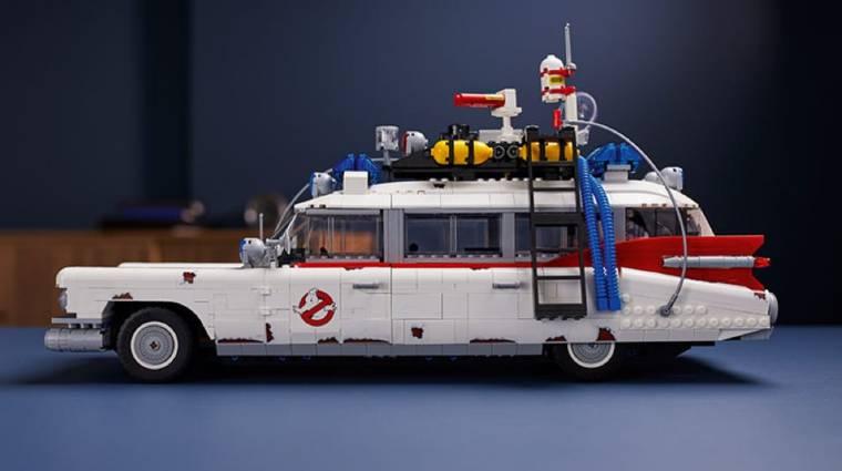 Ennek az óriási LEGO ECTO-1-nak ott a helye minden Szellemirtók rajongó polcán bevezetőkép