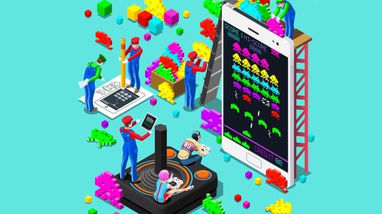 Retró gaming Androidon - így játssz klasszikusokkal a mobilodon! kép