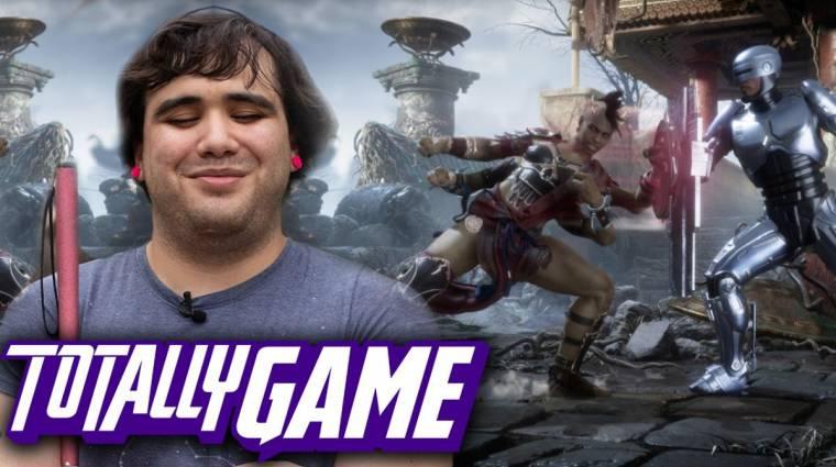 Ez a vak srác simán leverne téged Mortal Kombat X-ben bevezetőkép