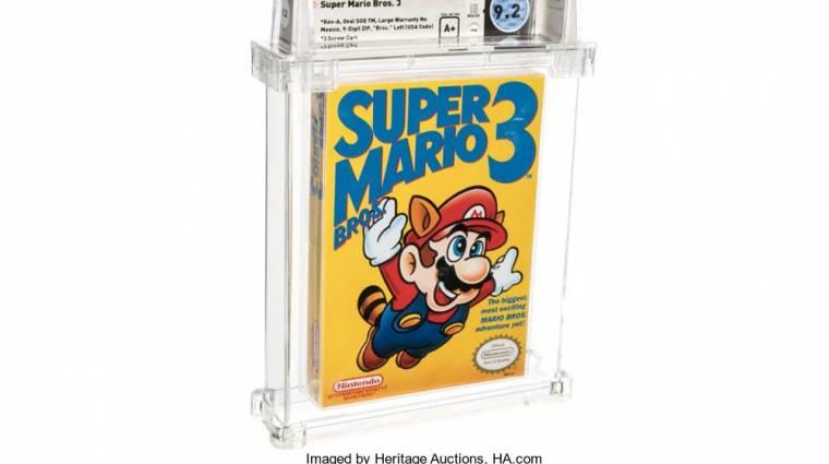 Tudod, mennyit ér most egy bontatlan Super Mario Bros. 3? bevezetőkép