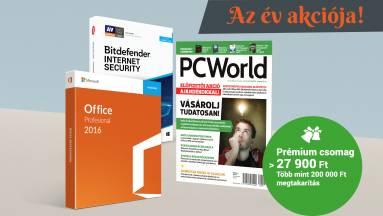 Teljes Microsoft Office és Bitdefender védelem a PC World előfizetőinek fókuszban