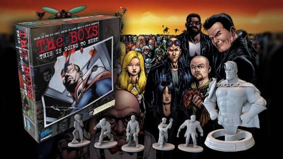 Csak tegnap indult el a The Boys társasjáték Kickstarter-kampánya, de máris majdnem összejött rá a pénz kép