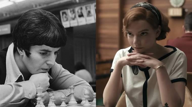 Grúz sakklegenda perli a Netflixet A vezércsel szexistának vélt megjegyzése miatt bevezetőkép