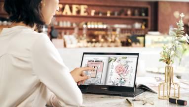 Asus ZenBook Flip S UX371 teszt – notebook a jövőből kép