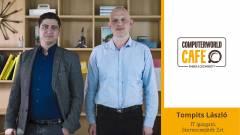 Computerworld Café: vendégünk Tompits László, a Szerencsejáték Zrt. IT-igazgatója kép