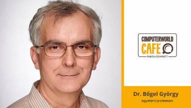 Computerworld Café: vendégünk Bőgel György egyetemi professzor kép