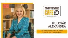 Computerworld Café: vendégünk Kulcsár Alexandra ERP-szakértő kép
