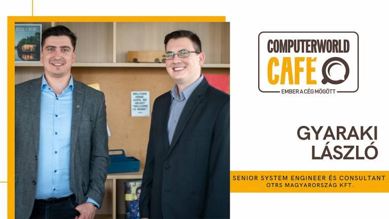 Computerworld Café: vendégünk Gyaraki László, az OTRS Magyarország szakembere kép