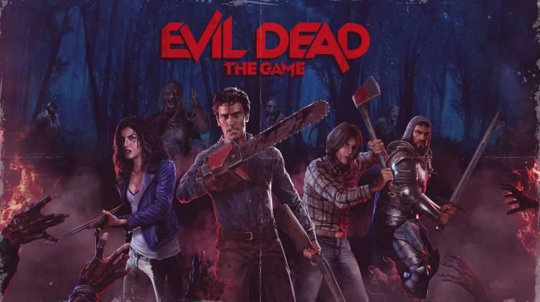 Brutális trailerrel rúgta be az ajtót az Evil Dead: The Game bevezetőkép