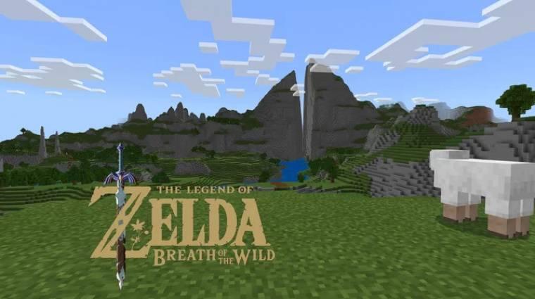 Íme a The Legend of Zelda: Breath of the Wild teljes játéktere Minecraftban felépítve bevezetőkép