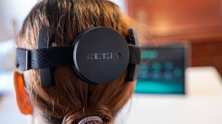 A NextMind jóvoltából tényleg valóság lehet az agy-számítógép interfész kép