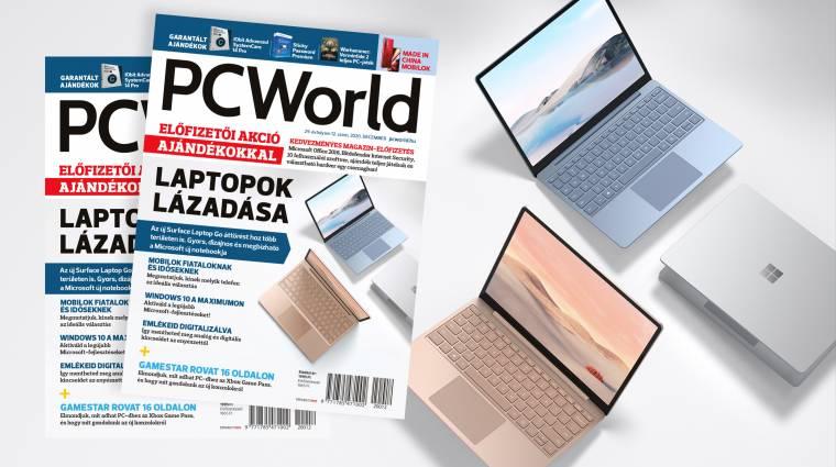 A decemberi PC Worldben fellázadnak a laptopok kép