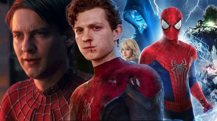 A Spider-Man: No Way Home logója egyértelműsíti, itt a multiverzumról lesz szó bevezetőkép
