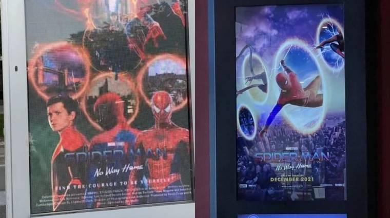 A mozik rajongói poszterekkel kezdték el promózni a Spider-Man: No Way Home filmet bevezetőkép
