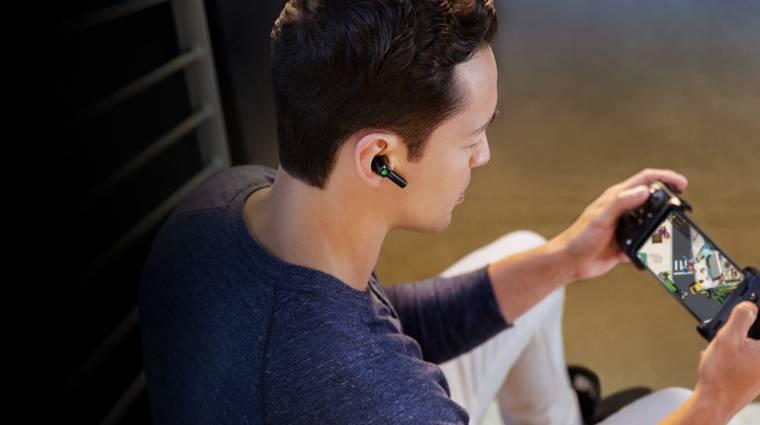 Aktív zajszűrést és THX audiót kínál a Razer Hammerhead True Wireless Pro fülhallgatója kép