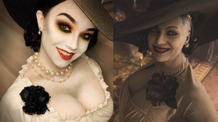 Hát persze, hogy a Resident Evil Village óriás vámpírhölgye is megihlette a cosplayereket bevezetőkép