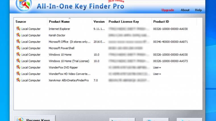 Így szerezheted vissza szoftvereid elveszett aktiválókulcsát kép