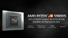 Ezt tudják majd az AMD Ryzen 5000 mobilprocesszorai kép