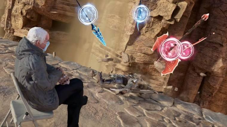 Napi büntetés: a Bernie Sanders mém játszható karakterré vált a Soulcalibur 6-ban bevezetőkép