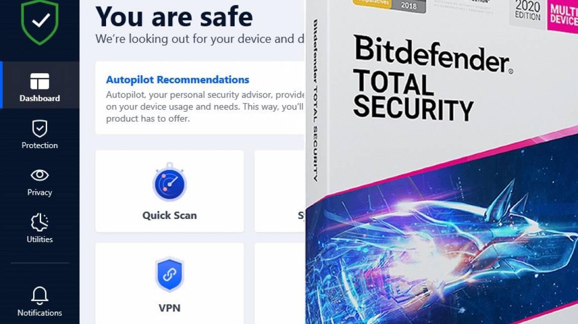 Bitdefender Total Security teszt - teljes körű védelem kép