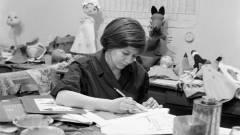Elhunyt a Mazsola és Tádé tervezője, Bródy Vera kép