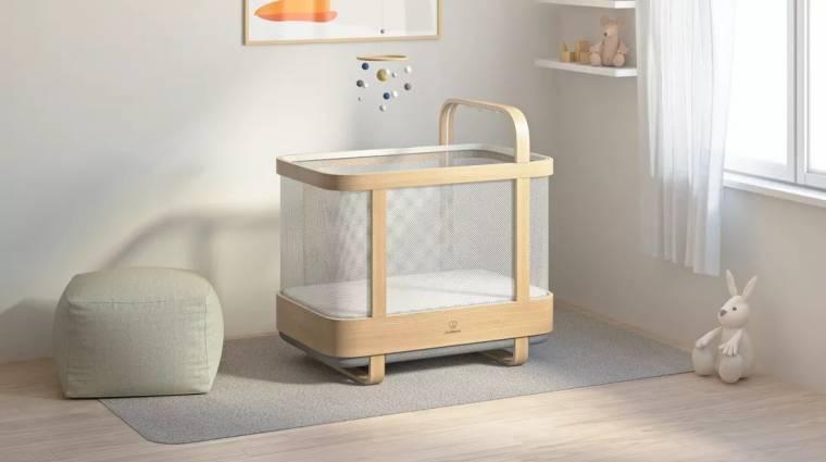 Így lesz könnyebb kisgyerekes szülőnek lenni - a CES 2021 babavárója kép