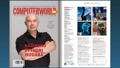 Lapozó: már itt is elolvashatja 2021 első Computerworld magazinját! kép
