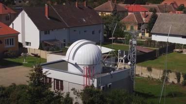 Földi műholdvevő állomás épült Szombathelyen - videó kép
