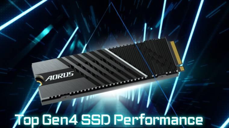 Brutális gyorsaságú SSD-ket mutatott be a Gigabyte kép