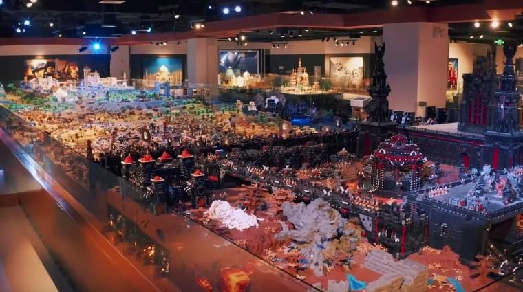 Észbontó A Gyűrűk Ura terepasztal a világ legnagyobb LEGO építménye bevezetőkép