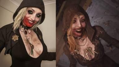 Nem kellett sokat várni egy remek Resident Evil Village cosplayre kép