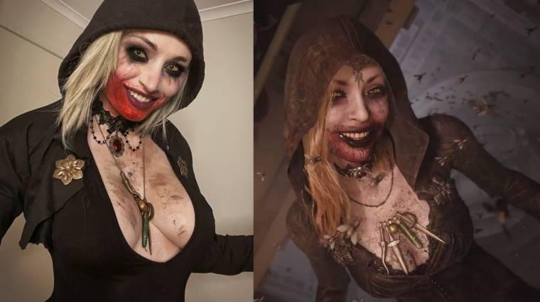 Nem kellett sokat várni egy remek Resident Evil Village cosplayre bevezetőkép