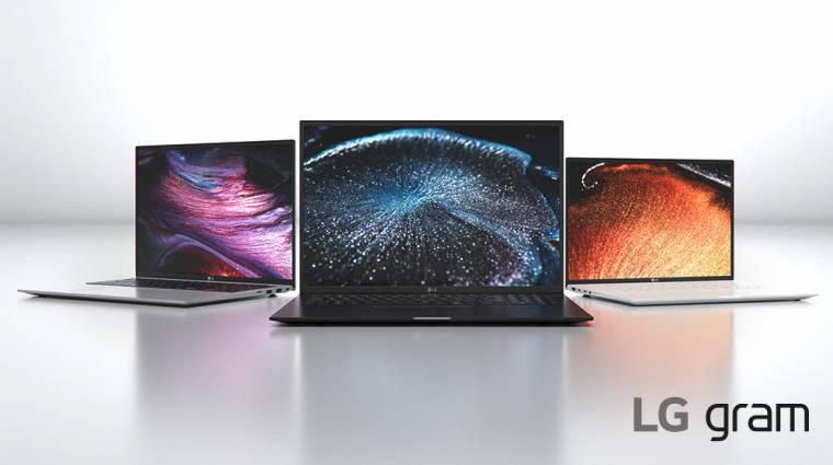 Trendi laptopokat villantott az LG kép