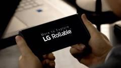 Megmutatta magát az LG feltekerhető kijelzős mobilja kép