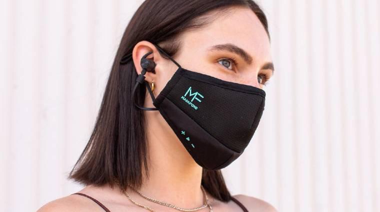 Íme a világ első Bluetooth headsettel felvértezett maszkja kép