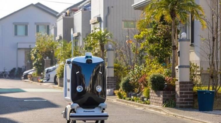 Tokió külvárosát rója a Panasonic önvezérelt csomagszállítója kép