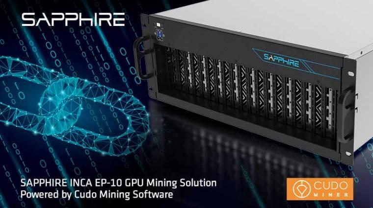 Új kriptovaluta bányászgépet jelentett be a Sapphire kép