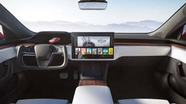 Olyan erős lesz az új Tesla, hogy a Cyberpunk 2077-et is futtatja kép