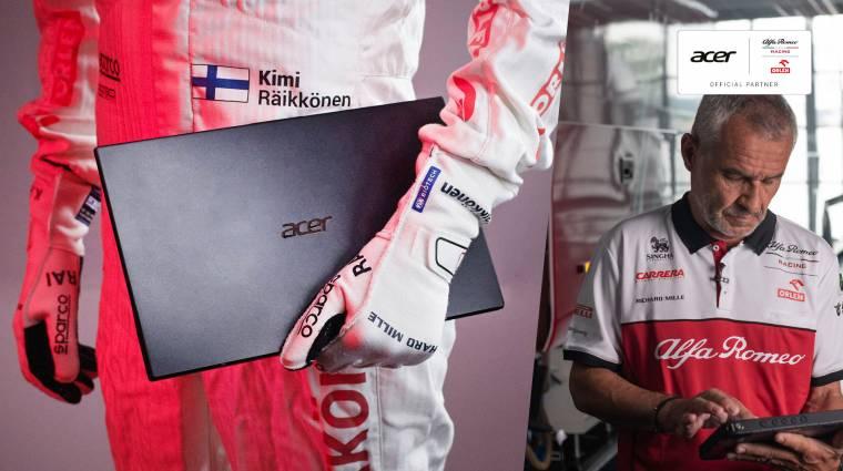 Az Acer 2021-ben is támogat egy Forma-1-es csapatot kép