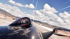 Íme az első repülő versenyautó kép