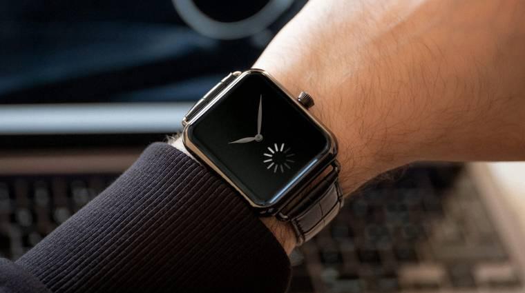 Méregdrága órával trollkodta meg H. Moser az Apple Watch-ot kép