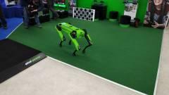 Már Magyarországon sétálgat a Boston Dynamics robotkutyája kép
