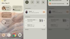 Új kezelőfelületet kap az Android 12, íme az első képek kép