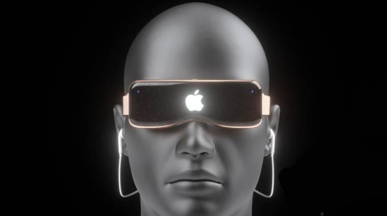Az eddigi infók alapján így nézhet ki az Apple mixed reality készüléke kép