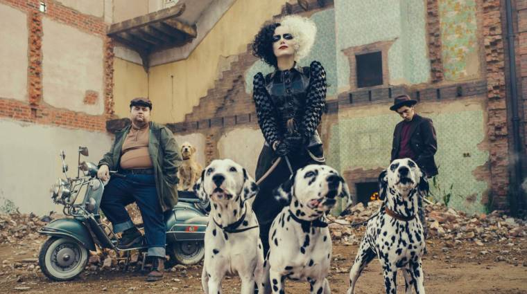Íme az első szinkronos előzetes Emma Stone Szörnyella de Frász filmjéhez kép