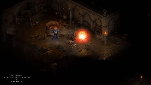 Két próbakör során is megnézhetjük, milyen lesz a Diablo 2: Resurrected kép