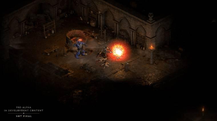 Két próbakör során is megnézhetjük, milyen lesz a Diablo 2: Resurrected bevezetőkép
